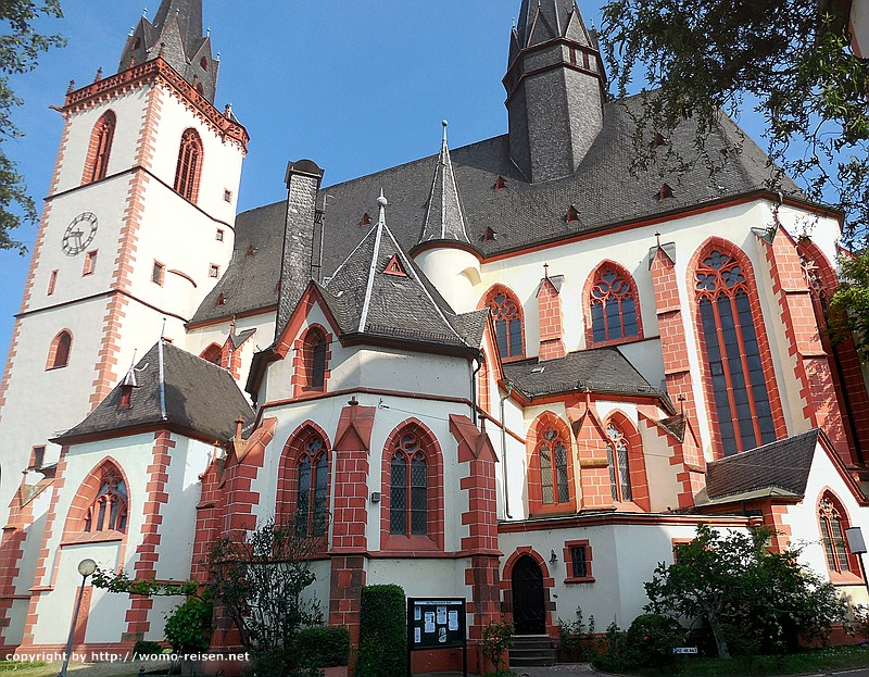 St. Martinskirchen in Bingen